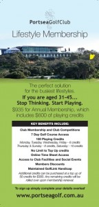 Lifestyle Membership Brochure